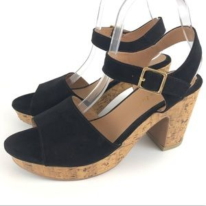 American Eagle Women's Platform Heels 9.5 Sandals